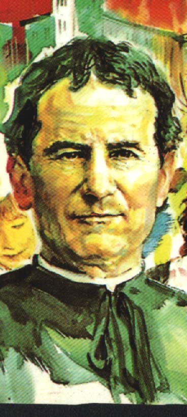 Don bosco je patrón našej školy. don bosco sa narodil 16.8.1815 v